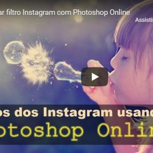 Aplicar filtros do Instagram com Photoshop Online   Fotoshop Online