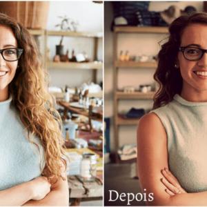 Como aplicar efeito Sépia   Fotoshop Online